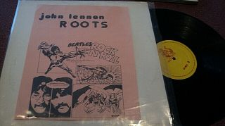 John Lennon Roots Lp Rock And Roll Lp Outtakes Beatles Rock N