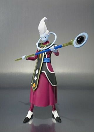 S.  H.  Figuarts Whis Dragon Ball Z In Hand Complete