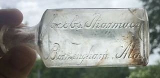 Rare Jacobs Pharmacy Drug Store Bottle Birmingham Alabama Coca Cola Ala