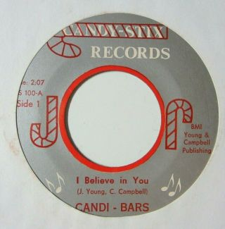 Northern Sweet Soul 45 Candi - Bars I Believe In You Candy Stix Listen