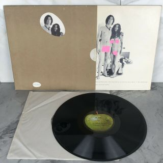 John Lennon And Yoko Ono Unfinished Music No.  1: Two Virgins Ex/nm - Vinyl Lp