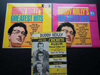 Buddy Holly Greatest Hits Nr Lp