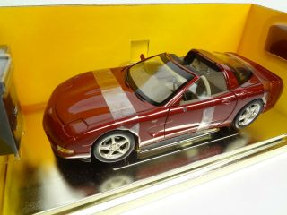 Corvette 1:18th Scale 2003 50th Anniversary Limited Edition Ertl With Tool Box