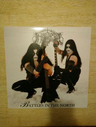 Immortal Battles In The North Vinyl Lp 1 Of Only 800 Pressed