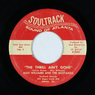 Funk 45 - Alex Williams & The Mustangs - The Thrill Ain