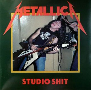 Metallica - Studio Shit - White Vinyl Lp - Near Inside And Out.