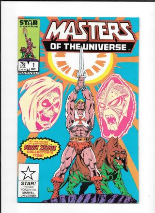 Masters Of The Universe 1 == Vf,  1st Issue Collector
