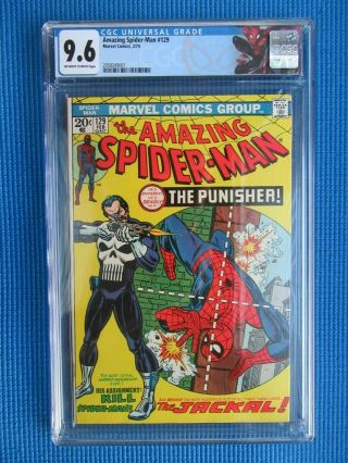 Spider - Man 129 - Cgc - (9.  6) - 1st Appearance Of The Punisher