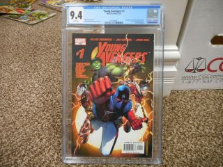 Young Avengers 1 Cgc 9.  4 Marvel 2005 1st Appearance Of Kate Bishop Nm White