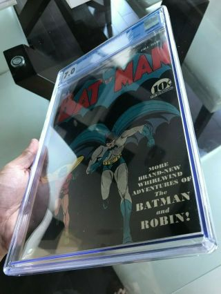 Batman 3 CGC 7.  0 WHITE PAGES 1st Catwoman in costume KEY ISSUE L@@K 8