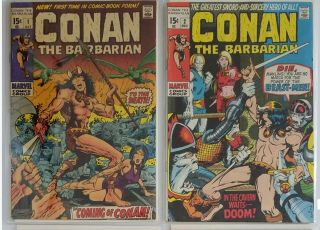 Conan Comic Books Complete Series Only $4.  40 Per Comic By Marvel 1 - 250