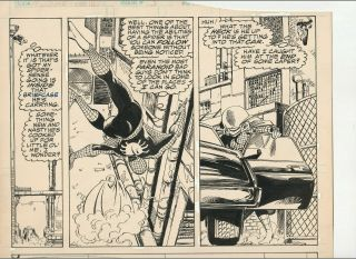 Signed John Byrne Art The Sensational She - Hulk 3 Spider - Man Mysterio