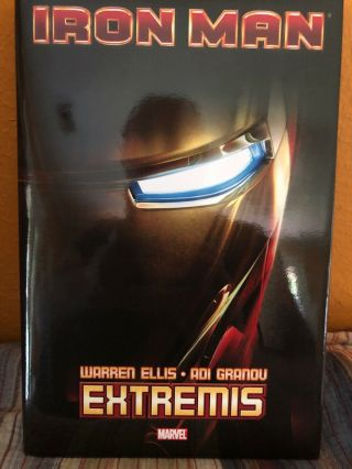 Iron Man - Extremis Hard Cover,  Marvel Warren Ellis