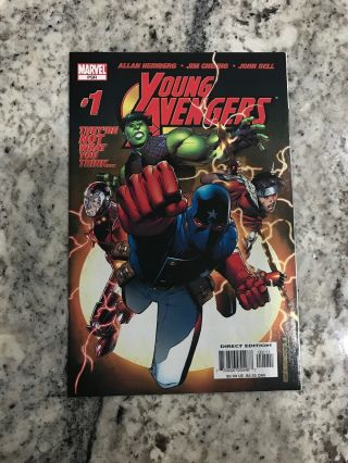 Young Avengers 1 Key Book Fast 1st Kate Bishop
