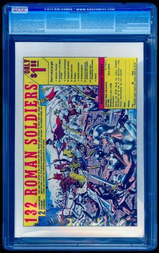 SILVER SURFER 1 CGC 8.  0 BRIGHT COLORS NO MARKS / STAMPS UNPRESSED 2