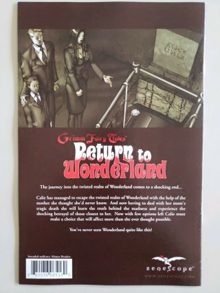 Grimm Fairy Tales Return to Wonderland 6 Wonderworld Variant VF/NM 2