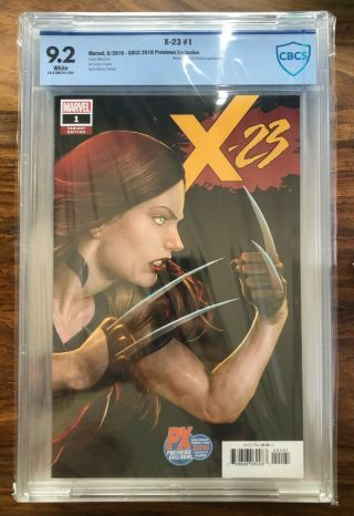 Sdcc Px Exclusive - X - 23 1 - Cbcs (cgc) 9.  2 - Choi Kinney Cover - 1st Print