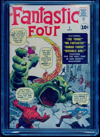FANTASTIC FOUR 1 CGC 6.  5 R BRIGHT COLORS UNPRESSED SEE OUR 48 49 50 2
