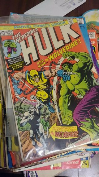 The Incredible Hulk 181 (1974,  Marvel) Stan Lee - First Appearance Wolverine