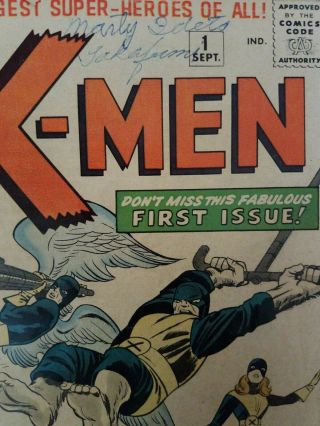 X - Men 1 Comic Book Silver Age 1963 First Appearance Of Magneto 2