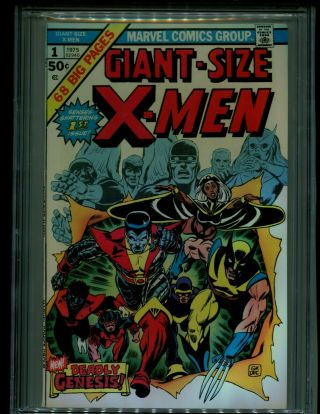 Giant Size X - Men 1 GCC 9.  2 w/ WHITE Pages HOTTEST BOOK GOING ATM 3