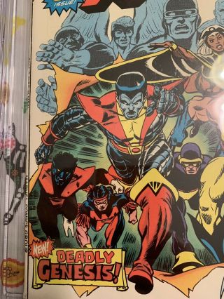 Giant Size X - Men 1 GCC 9.  2 w/ WHITE Pages HOTTEST BOOK GOING ATM 7
