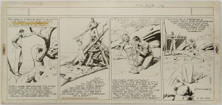 Art,  Alex Raymond,  Jungle Jim (1940 - 07 - 21) Topper - Format Sunday Strip