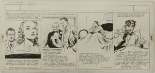 Art,  Alex Raymond,  Jungle Jim (1940 - 10 - 06) Topper - Format Sunday Strip