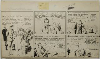 Art,  Alex Raymond,  Jungle Jim (1938 - 04 - 10) Topper - Format Sunday Strip