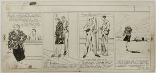 Art,  Alex Raymond,  Jungle Jim (1940 - 10 - 20) Topper - Format Sunday Strip