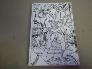 Grimm Fairy Tales Return To Wonderland 1 Comic Book Ltd 100 Ebas Jay Co Sketch