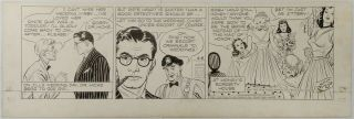 Art,  Rip Kirby,  Alex Raymond,  (1946 - 06 - 08) The Hicks Formula,  Early