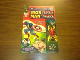 Tales Of Suspense 68 Marvel Comics 1965 Iron Man And Captain America Silver Age