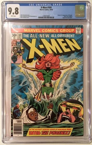 X - Men 101 Cgc 9.  8 1 St Phoienx,  Stan Lee 130,  Movie Now 94 Bronze Key
