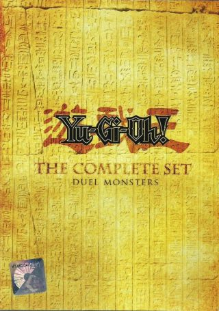 Anime Dvd Yu - Gi - Oh Complete Series Seasons 1 2 3 4 & 5 English Dubbed L6