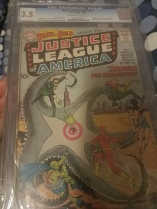 The Brave And The Bold 28 Cgc 3.  5 First Justice League Really Presentation