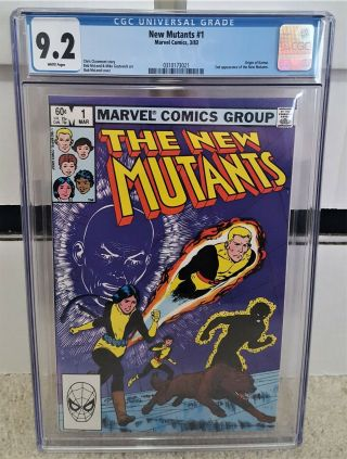 Mutants 1 (1983) Cgc 9.  2 - 2nd Appearance Of Mutants Key