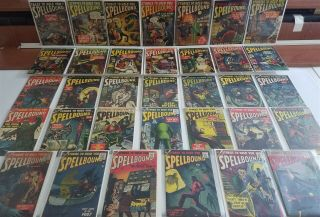 Tales To Hold You Spellbound 1 - 34 Full Run Atlas Golden Age Owner