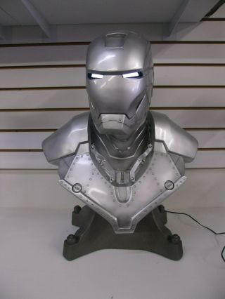 Iron Man Mk Ii (mark 2) Life - Size Bust 1:1 Scale Sideshow Collectibles 79/100