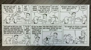 Pearls Before Swine Signed Strip