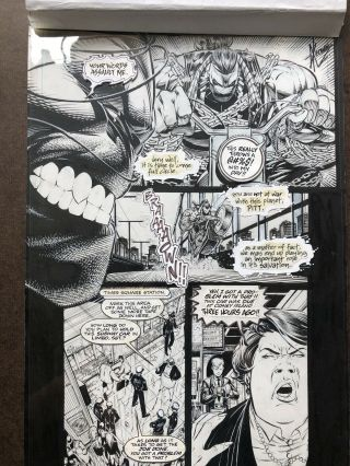 Pitt 1 Art Page By Dale Keown First Pitt Appearance 2
