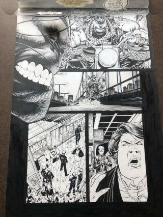 Pitt 1 Art Page By Dale Keown First Pitt Appearance 5
