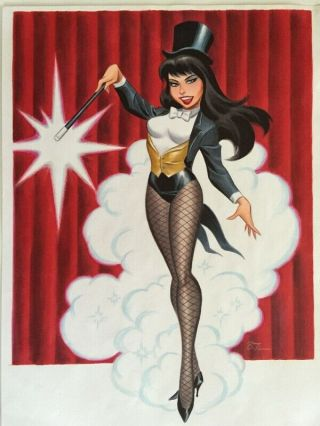 Zatanna By Bruce Timm Art Published Naughty And