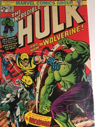 Incredible Hulk 181 With Marvel Value Stamp 11