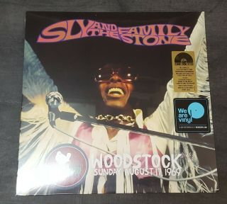 Sly & The Family Stone Woodstock - 2 Lp Vinyl - Record Store Day 2019 - Rsd