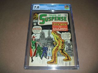 Tales Of Suspense 43 Cgc 7.  0 From 1963 Iron Man Marvel Comics Not Cbcs