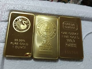 3 Oz Pure Gold 99.  999.  99 2750