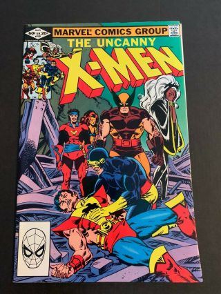 Uncanny X - Men 155 1982 Vf/nm Wolverine Key 1st Appearance Of The Brood