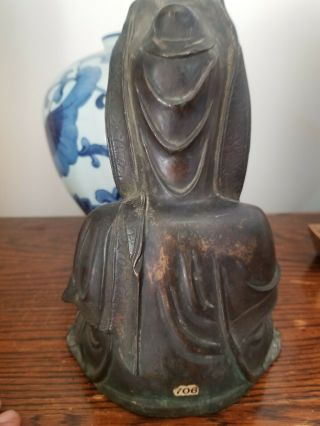 Antique Bronze Buddha Qing Dynasty late 18th to early 19th century 4