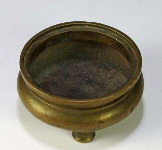 Antique Chinese Squat Form Bronze Censer with Xuande Mark 2